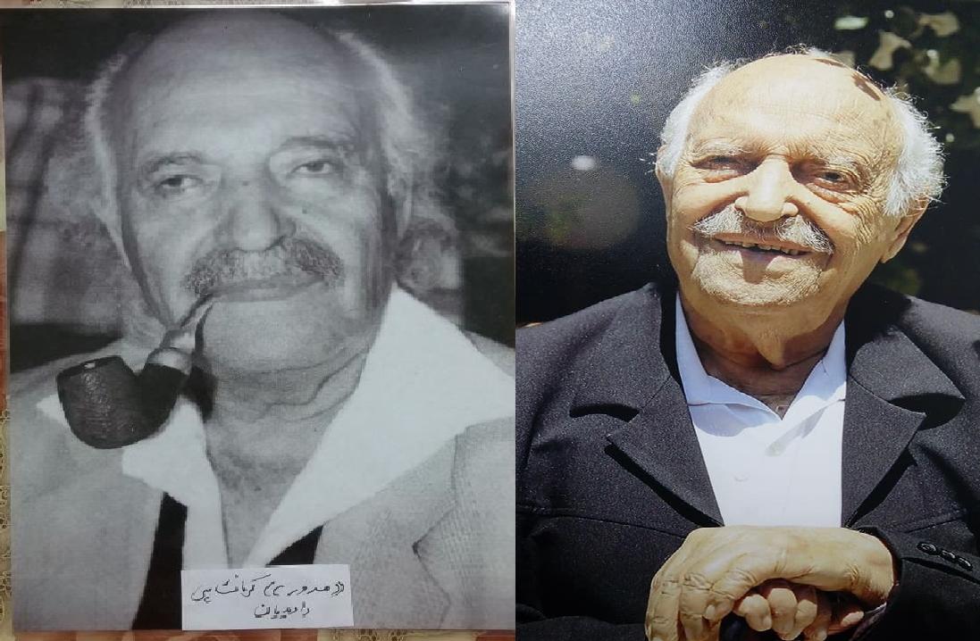 گفتگوی آقای منشه امیر با شاعر ایرانی-اسراییلی داوید داویدیان ملقب به مسرور کرمانشاهی