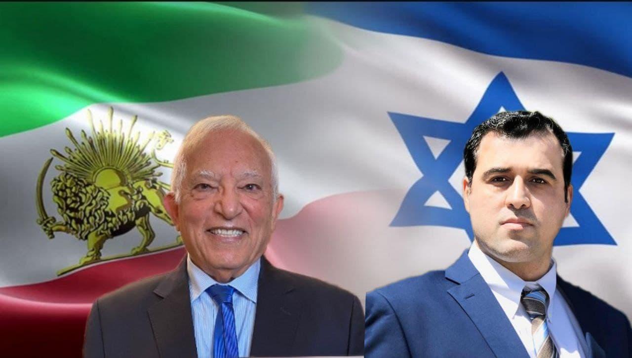 گفتگوی آقای منشه امیر با احمد باطبی درباره سفر به اسراییل و آینده روابط ایران و اسراییل